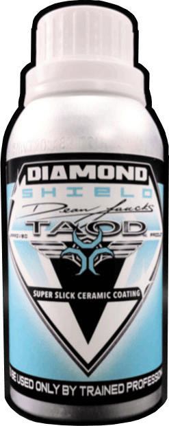 diamond shield ceramic coating bottle